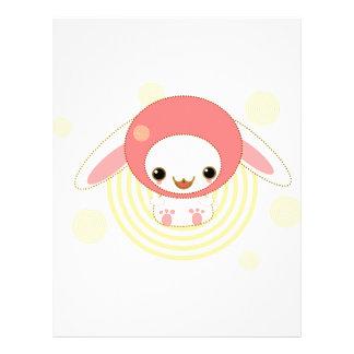 kawaii bunny pink flyer