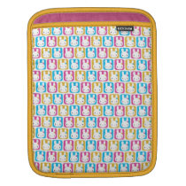 Kawaii Bunny Squares Sleeve For iPads