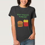 Kawaii Burger and Fries who are BFFs T-Shirt