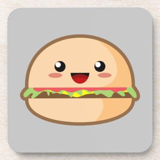 Kawaii Burger Coaster