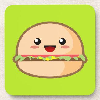 Kawaii Burger Drink Coaster