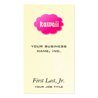 Kawaii Business Card