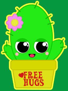 63847439a Cute Cactus Canvas Art   Prints
