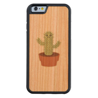 Kawaii Cactus Carved® Cherry iPhone 6 Bumper