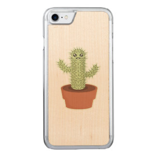 Kawaii Cactus Carved iPhone 7 Case