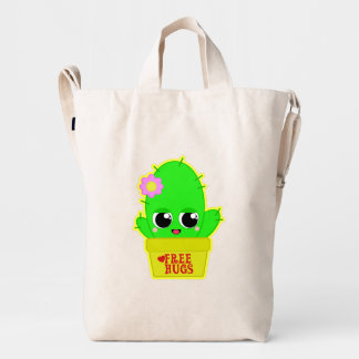 Kawaii Cactus Duck Bag