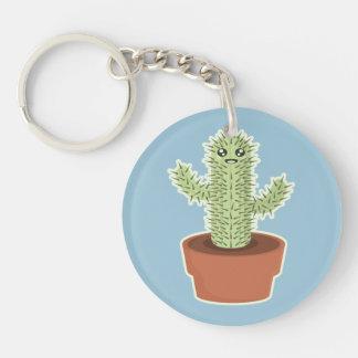 Kawaii Cactus Keychain