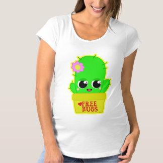 Kawaii Cactus Maternity T-Shirt