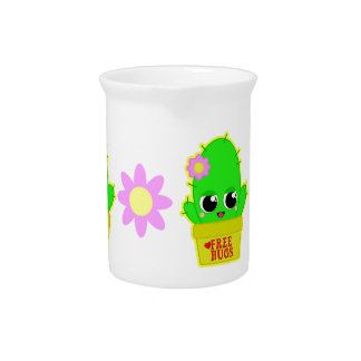 Kawaii Cactus Pitcher