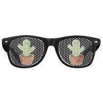 Kawaii Cactus Retro Sunglasses
