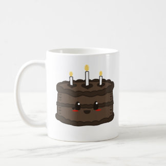Kawaii Cake - Chocolate Mug