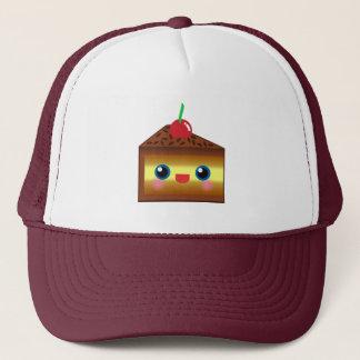 Kawaii Cake Pie Chocolate Vanilla Cream Cherry Yum Trucker Hat