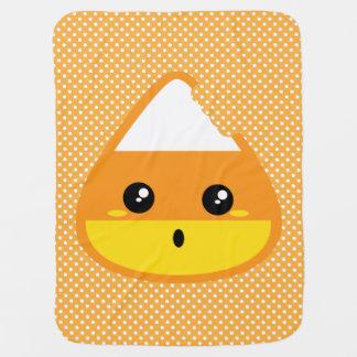 Kawaii Candy Corn Baby Blanket
