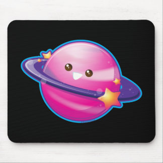 Kawaii Candy Planet Mouse Pad