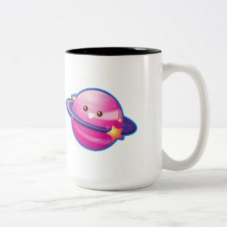 Kawaii Candy Planet Two-Tone Coffee Mug