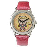 Kawaii Captain Marvel Photon Engery Watch