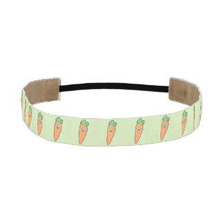 Kawaii Carrot Athletic Headband