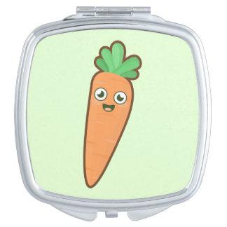 Kawaii Carrot Compact Mirror