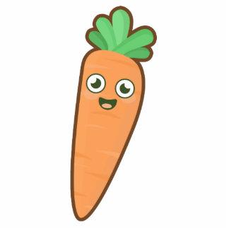 Kawaii Carrot Cutout