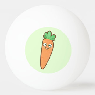 Kawaii Carrot Ping-Pong Ball