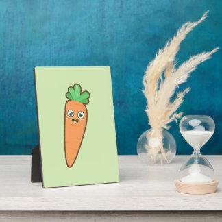 Kawaii Carrot Plaque