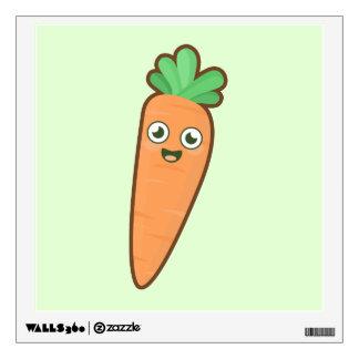 Kawaii Carrot Wall Sticker