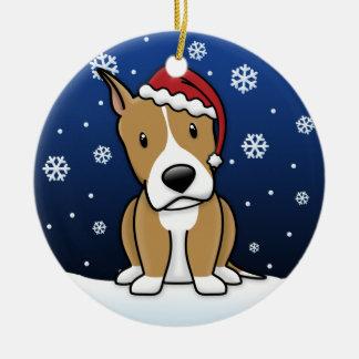 Kawaii Cartoon Am Staff Christmas Ornament