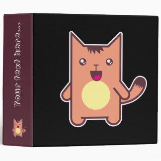 Kawaii cat binder