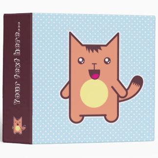 Kawaii cat binders