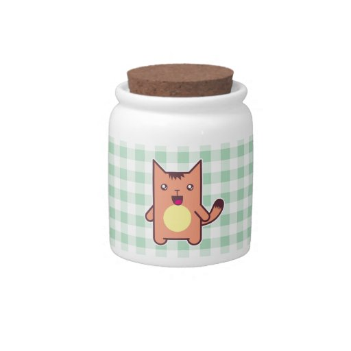 Kawaii cat candy dishes