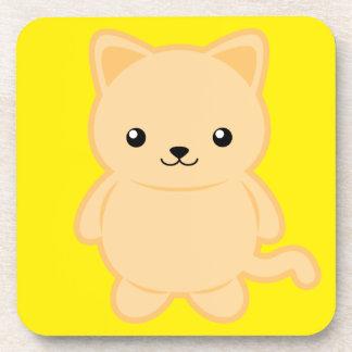 Kawaii Cat Coaster
