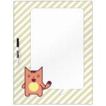 Kawaii cat Dry-Erase board