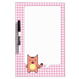 Kawaii cat Dry-Erase whiteboard