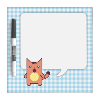 Kawaii cat dry erase boards