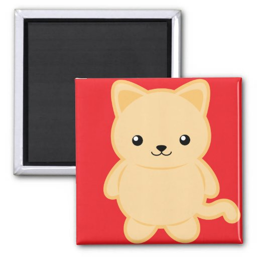 Kawaii Cat Magnet