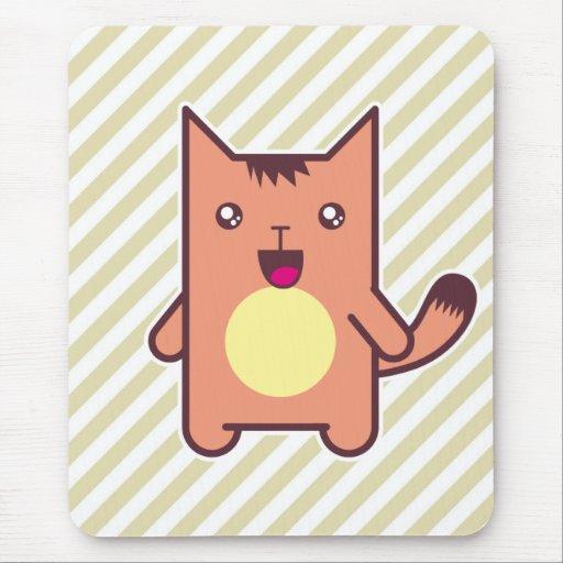 Kawaii cat mouse pad