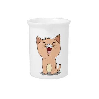 kawaii cat pitchers