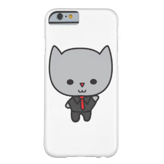 Kawaii Cat with Tie Barely There iPhone 6 Case