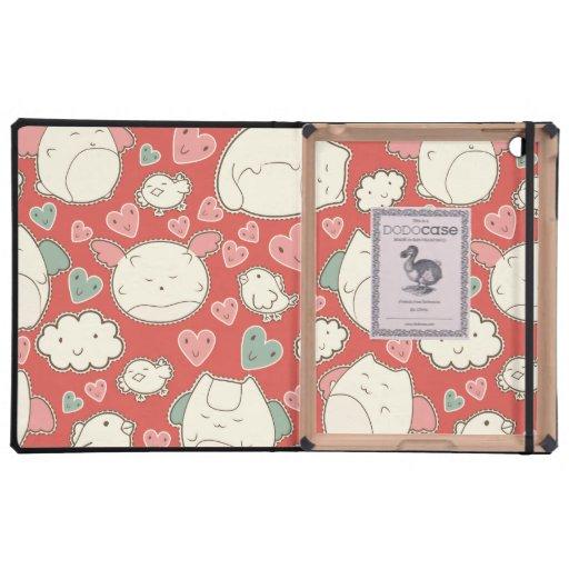 Kawaii cats cases for iPad