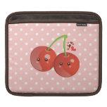 Kawaii Cherries iPad Sleeve