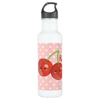 Kawaii Cherries Water Bottle