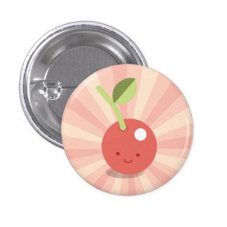 Kawaii Cherry button