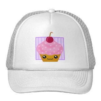 Kawaii Cherry Cupcake Apparel Mesh Hat