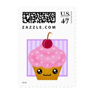 Kawaii Cherry Cupcake Postage