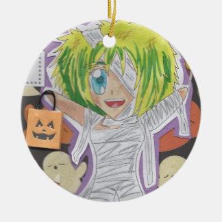 Kawaii Chibi Mummy Izumi Halloween Ornament