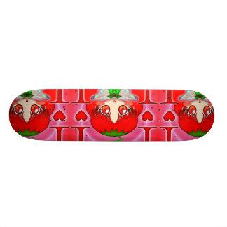 Kawaii Chibi Tomato Fairy Skate Deck