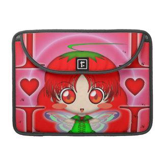 Kawaii Chibi Tomato Fairy Sleeves For MacBook Pro