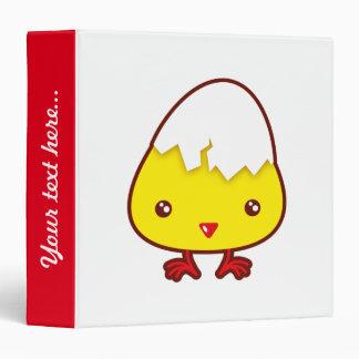 Kawaii chick binder