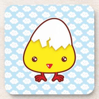 Kawaii chick coaster