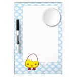 Kawaii chick dry erase board